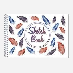 Блокнот для зарисовок «Sketchbook», А6, 60л