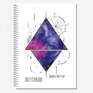 """Блокнот для зарисовок """"Sketchbook"""", А4, 40л"""