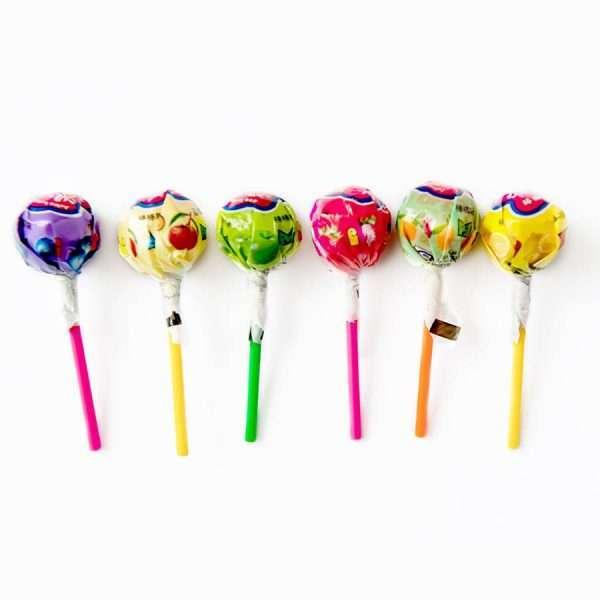 """Леденец на палочке """"Juice lollipops"""" (лимон)"""