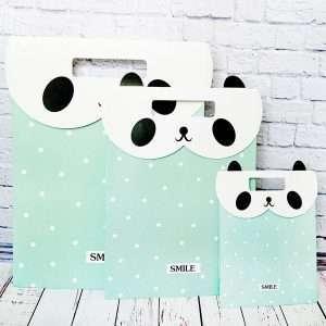 """Пакет подарочный """"Panda"""" (большой)"""