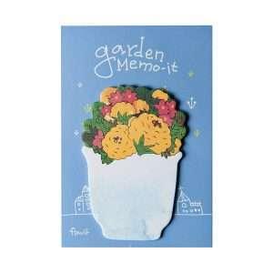"""Стикеры """"Garden memo"""" (желтые цветы)"""