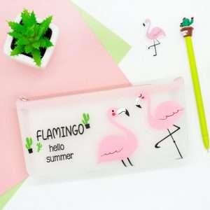 """Пенал """"Flamingo-2"""" (белый)"""