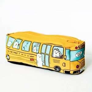 """Пенал """"School bus"""" (желтый)"""