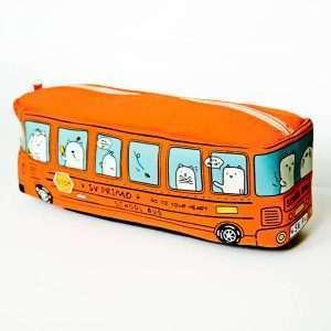 """Пенал """"School bus"""" (оранжевый)"""