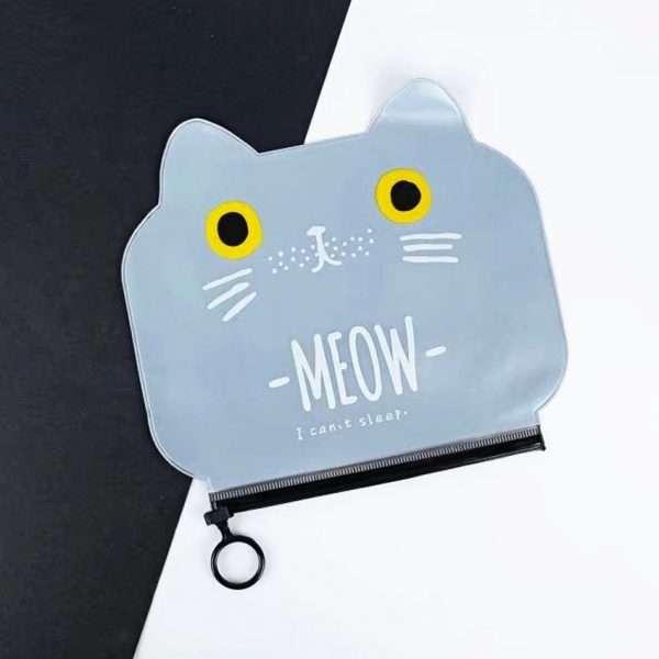 """Пенал """"Meow"""" (черный)"""