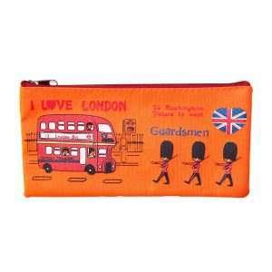 "Пенал-косметичка ""London"" (оранжевый)"