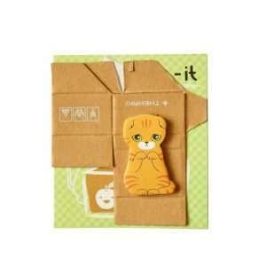 """Стикеры-закладки """"Kitty house"""" (зеленый)"""
