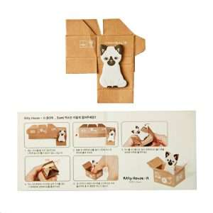 "Стикеры-закладки ""Kitty house"" (сиреневые)"