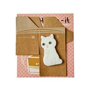 """Стикеры-закладки """"Kitty house"""" (розовые)"""
