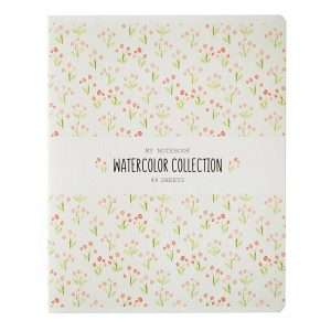 "Тетрадь ""Узоры. Watercolor collection"", А5, 48л"