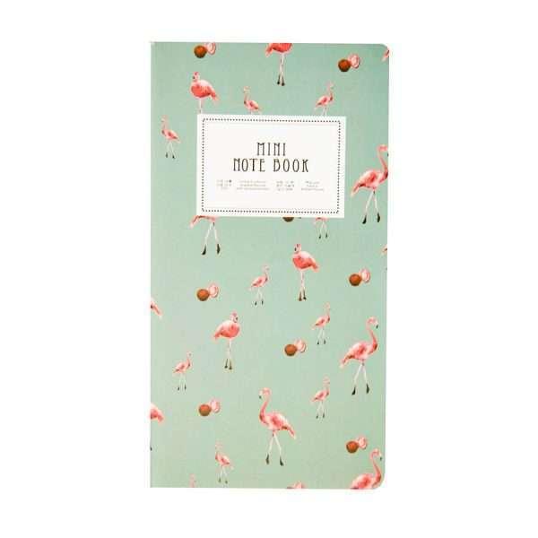 """Блокнот """"Mini note book"""" (фламинго)"""