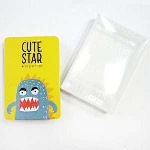 """Блокнот """"Cute star"""" (желтый)"""