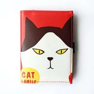 """Блокнот """"Cat family"""" (красный)"""