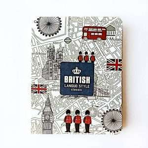 "Блокнот ""British style"""