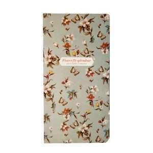 """Блокнот """"Flower fly splendour"""" (светло-серый)"""