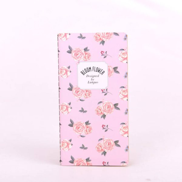 "Блокнот ""Bloom flower"" (розовый)"