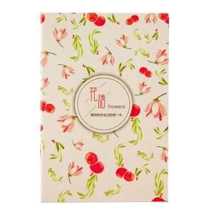 """Блокнот """"Flowers"""" (красные цветы)"""