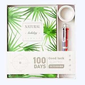 """Ежедневник """"100 days. Natural""""+ скотч (2)"""