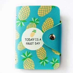 """Обложка для карт """"Today is a fruit day"""" (ананас)"""