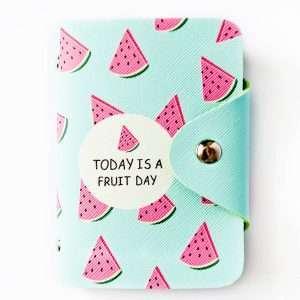 """Обложка для карт """"Today is a fruit day"""" (арбуз)"""