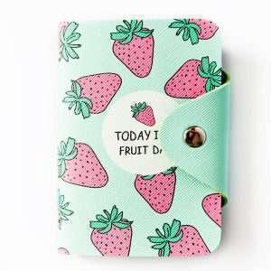 """Обложка для карт """"Today is a fruit day"""" (клубника)"""