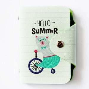 """Обложка для карт """"Hello"""" (медведь)"""