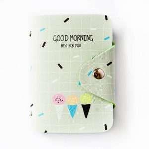 """Обложка для карт """"Good morning"""" (серая)"""