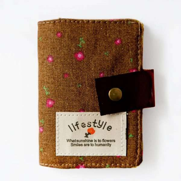 """Обложка для карт """"Lifestyle"""" (коричневая)"""