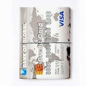 """Обложка для паспорта """"Bank card"""""""