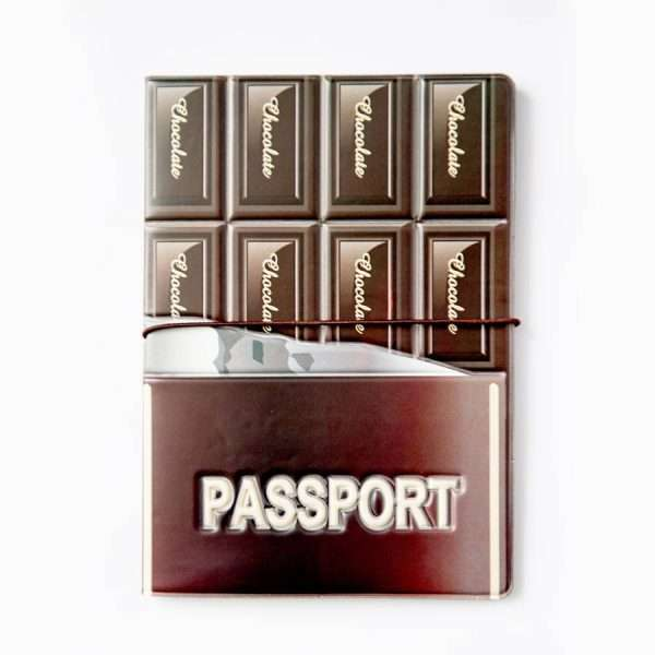 """Обложка для паспорта """"Chocolate"""""""