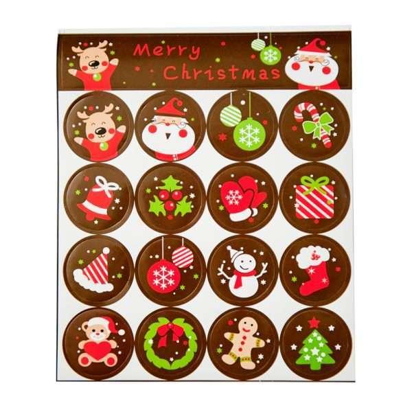 """Наклейки """"Merry Christmas"""""""