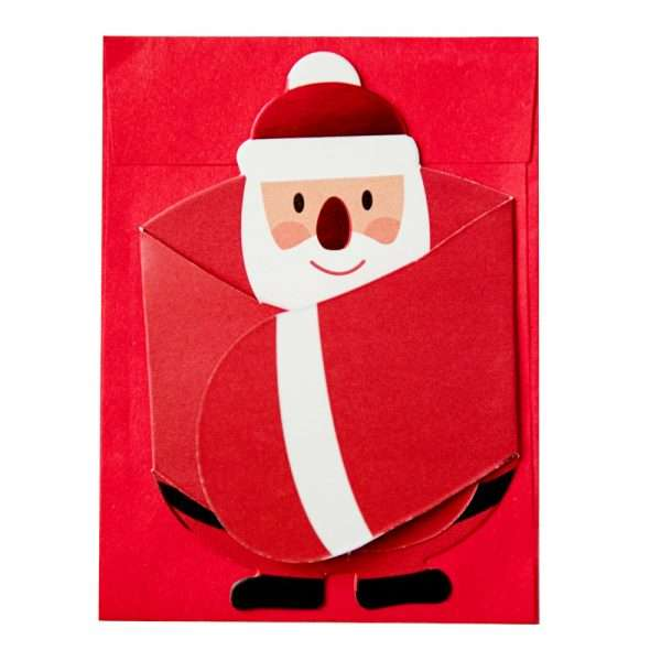 "Открытка + конверт ""Merry Cristmas"""