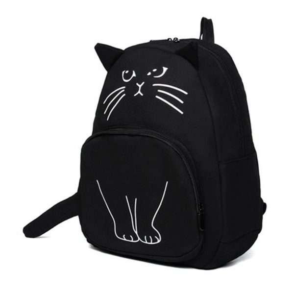 "Рюкзак ""Cute cat"" (голубой)"