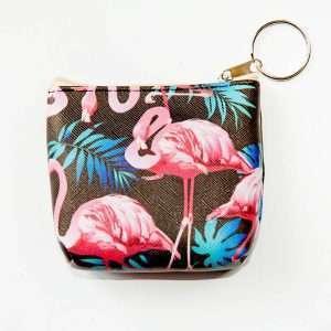 """Кошелек """"Flamingo-2"""" (много фламинго)"""