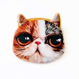 "Кошелек ""Cat face"" (24)"