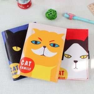 """Блокнот """"Cat family"""" (кремовый)"""