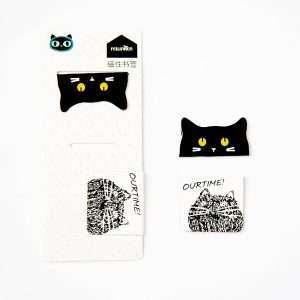 """Магнитная закладка """"Black&white cat"""" (1)"""