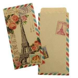"""Конверт подарочный """"Париж, я люблю тебя"""""""