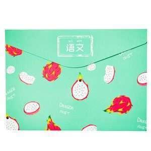 """Папка-конверт на липучке """"Fruit"""", А4 (питахйа)"""