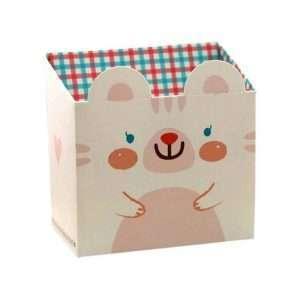 """Подставка для канцелярии """"Cute animal"""" (белая)"""