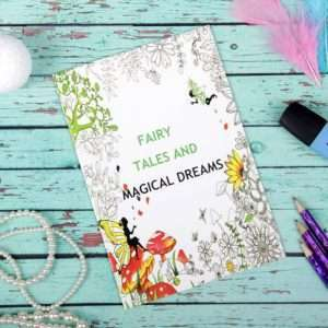 """Раскраска для вдохновения """"Магические мечты"""""""
