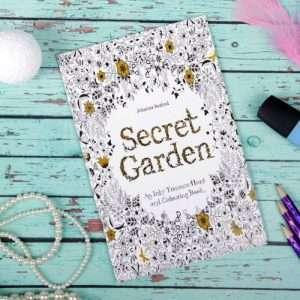 """Раскраска для вдохновения """"Секретный сад"""""""
