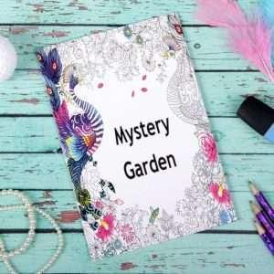 """Раскраска для вдохновения """"Загадочный сад"""""""