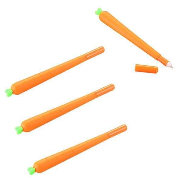 "Ручка гелевая ""Морковка"""