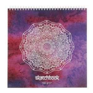 """Альбом для зарисовок """"Sketchbook"""", 25х25см"""