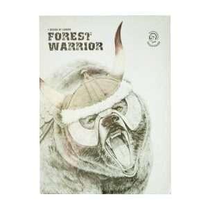 "Скетчбук ""Forest warrior"" (медведь), В5, 80л"