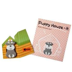 """Стикеры-закладки """"Puppy house"""" (розовый)"""