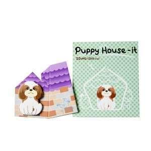 """Стикеры-закладки """"Puppy house"""" (зеленый)"""