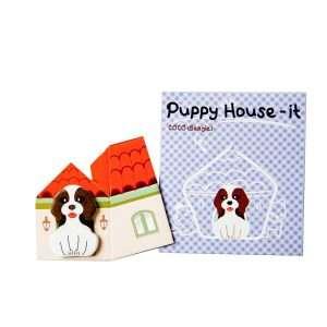 """Стикеры-закладки """"Puppy house"""" (сиреневый)"""