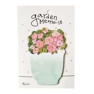 """Стикеры """"Garden memo"""" (розовые цветы)"""